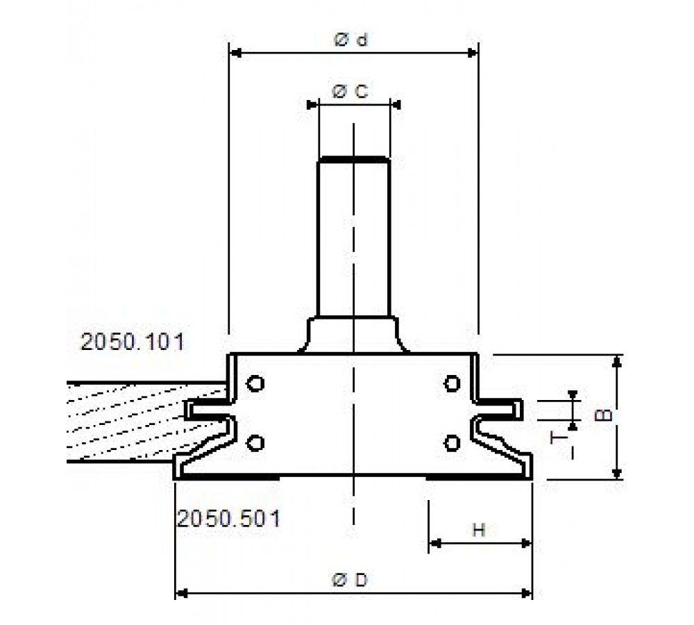 Kitchen Set For Solid Doors Art 2050 Maginn